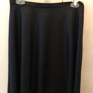 Top Shop sparkly black skirt